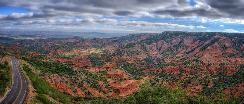 TX-207 To Caprock Canyons State Park