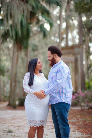 Mercedes and Dwayne Maternity