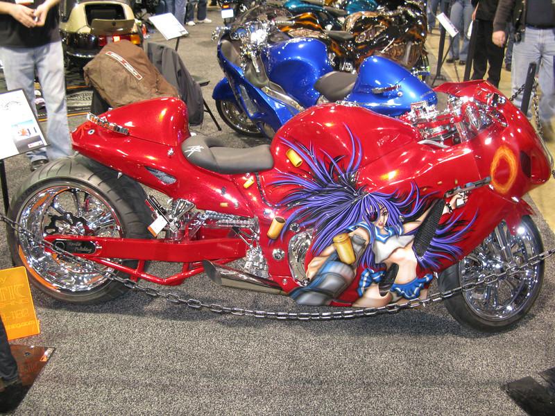 Jim's Hayabusa custom bike