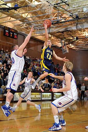 Boys Varsity Basketball - Grand Ledge vs Mason - March 10