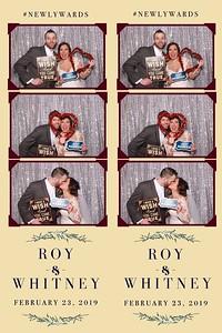 Roy & Whitney's Wedding