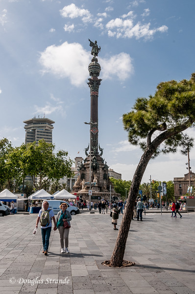 Barcelona: Monument to Christopher Columbus