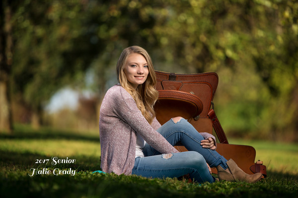 Halie Grady Senior session