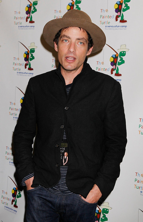 """. Singer and songwriter Jakob Dylan poses at \""""A Celebration of Carole King  And Her Music\"""" concert to benefit Paul Newman\'s The Painted Turtle Camp in Hollywood December 4, 2012.  Dylan performed at the concert. The Painted Turtle Camp provides year round camp and hospital outreach programs to children with chronic and life-threatening illnesses at no charge. REUTERS/Fred Prouser"""