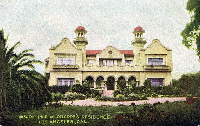 Paul de Longpre's Residence
