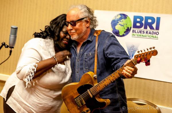 Diunna Greenleaf and Bob Margolin  BRI Shoots BMA s 2015