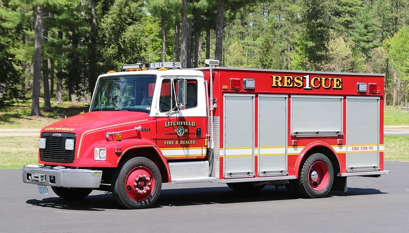 Rescue 1.  1998 Freightliner / Valley