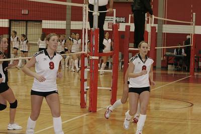Girls Junior Varsity Volleyball - 2005-2006 - 2/23/2006 vs. Ludington