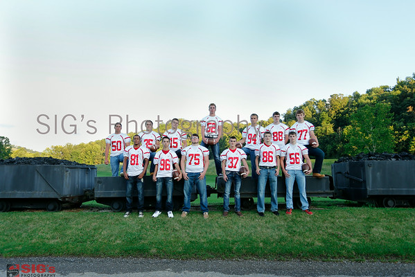 Senior Football Group Photos
