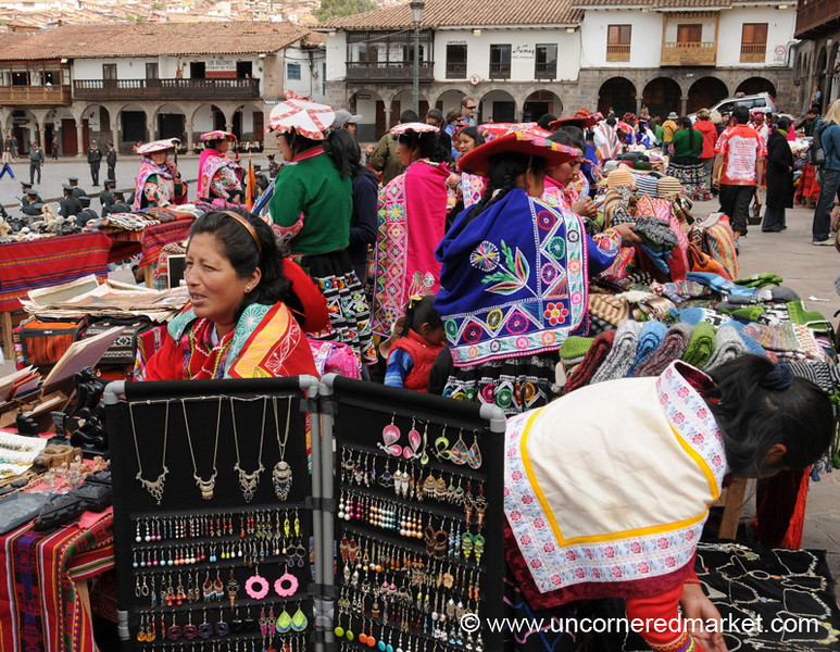 Large Selection of Crafts - Cusco, Peru