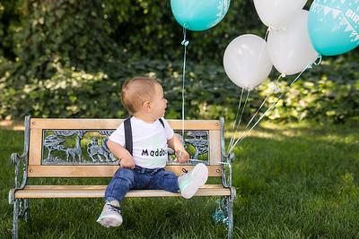 Maddox's First Birthday - 2017