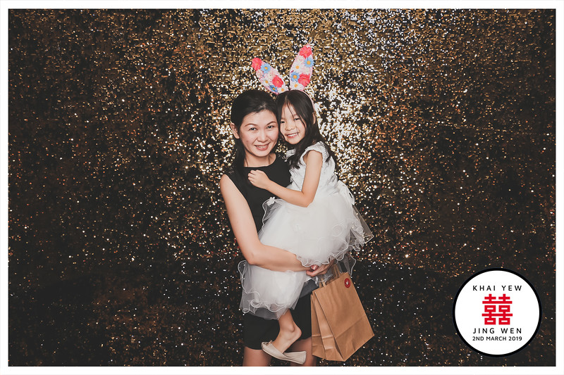 Wedding of Khai Yew & Jing Wen   © SRSLYPhotobooth.sg
