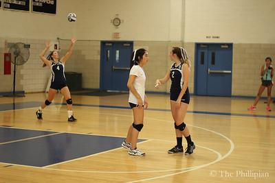Girls Volleyball vs. St. Paul's 9/23/14