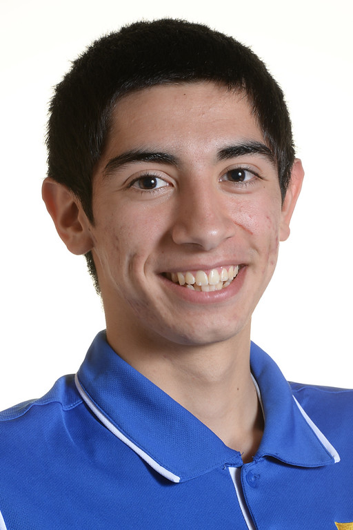 . Vittorio Reynoso from La Mirada High School was selected to the Whittier Daily News All-Area Boys Basketball team on March 27, 2014. (Staff Photo by Keith Durflinger/Whittier Daily News)