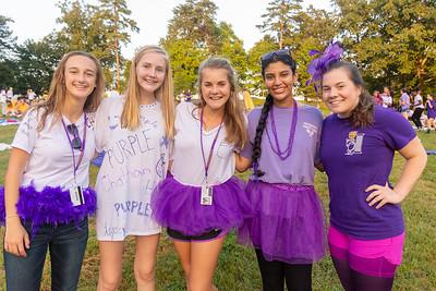 Picnic Honoring the New Girls
