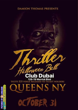 "DAMION THOMAS ""THRILLER HALLOWEEN BALL"""