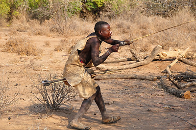 Hunting with the Hadzabe Hunter Gatherers; Visit to a Datoga Village