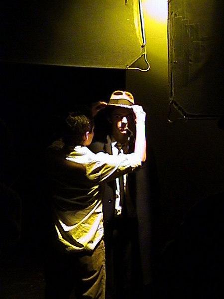 at shoot