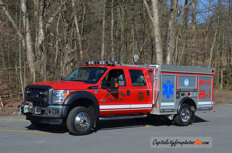 Newton Wayne Special Unit 26: 2012 Ford F550/KME