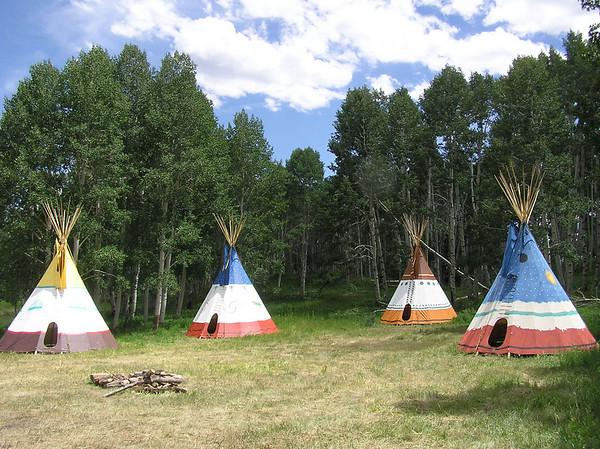 La Sal Mountain Camp