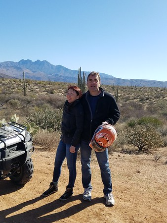 2-25-18 am ATV tour Dustin