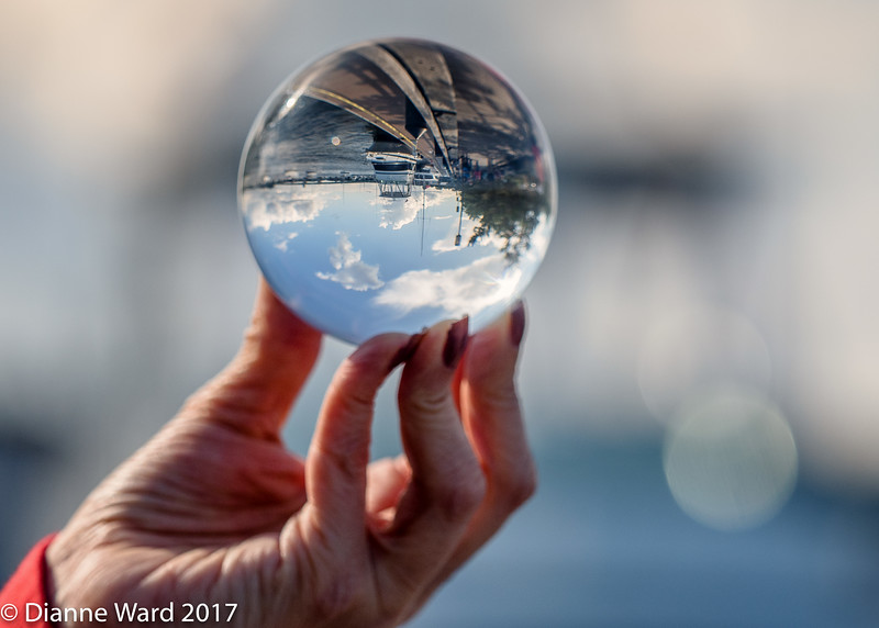 Crystal Ball Reflections