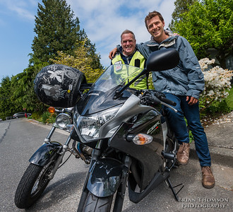Ted and Ben Motorcycle Training