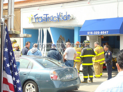 Car into Building w/pin 4/3/08
