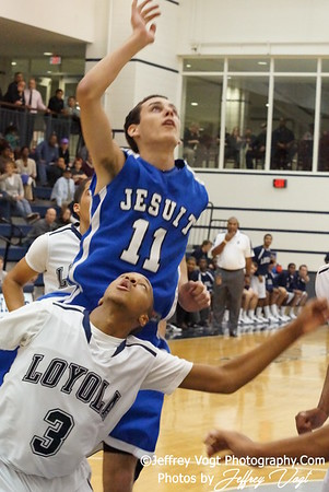 12/29/2011 Jesuit Tampa vs Loyola LA Basketball Photos by Jeffrey Vogt Photography
