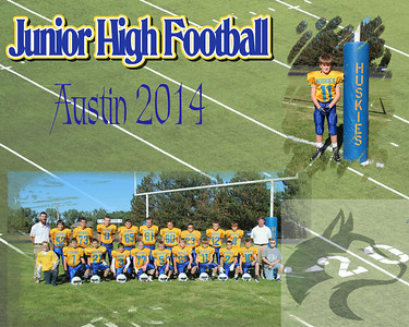 JH Football Collages