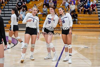 10.04 PRHS Varsity Volleyball vs. Piedmont