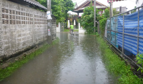Flooding in Chiang Mai