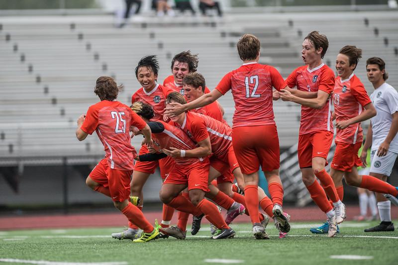 WBL Boys Varsity Soccer -V-Hill Murray 2021