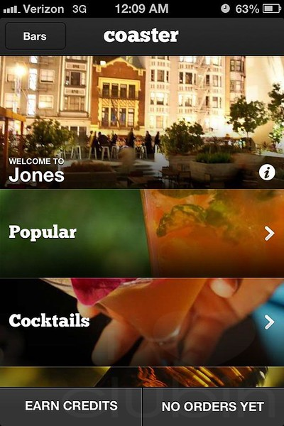 Coaster App Party @ 620 Jones -SF 11.1.12