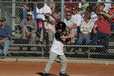 Tate's Baseball Game Oct 2013