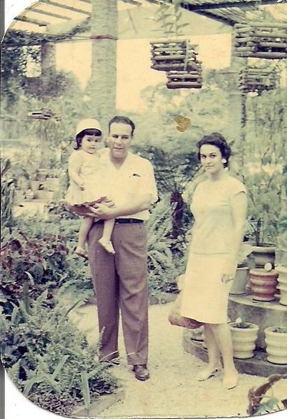 Familia Palma Brito - Estufa do Dundo
