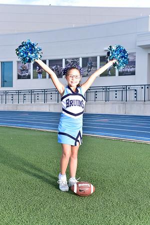 Cheer Group 3rd grade