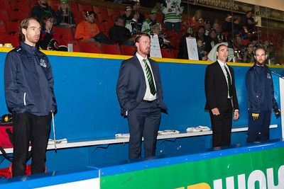 Coaches and behind the bench