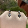 .69ctw Vintage Diamond Double Drop Earrings, French 11