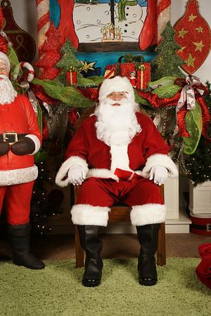 Santa at Gingers
