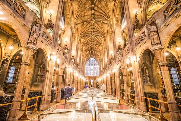 John Rylands Library, Manchester U.K.