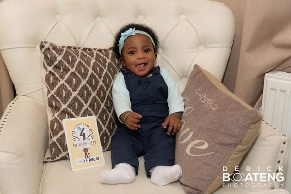 Olivia 4 Months
