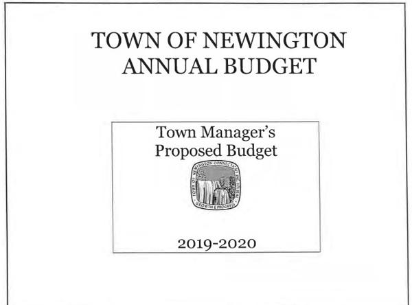 Budget cover