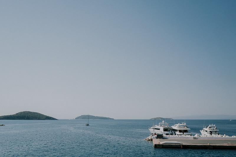 K + K | Greek Orthodox Wedding in Skopelos island