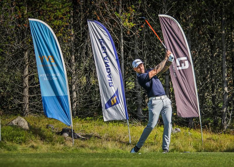 Sigurþór Jónsson.  Íslandsmót golf 2019 Grafarholt - 1. keppnisdagur. Mynd: seth@golf.is
