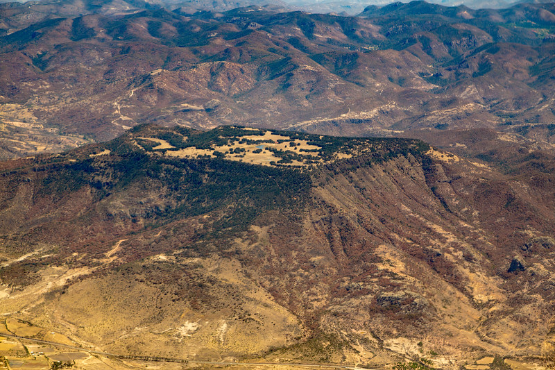 A very odd mesa, 30 KM NE of Guanajuato Aeropuerto, Leon