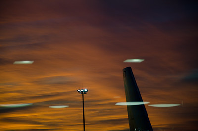 The Sky of morning -fall 2011-Logan airport