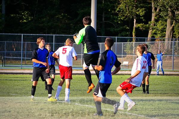 Boy Varsity Soccer v Hamilton
