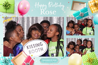 Rose's 73 Years of Glory December 29, 2018