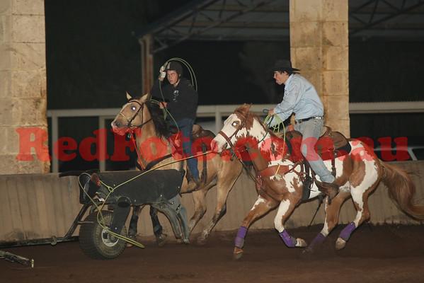 Mechanical Steer Roping Brookleigh June